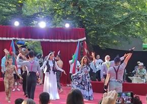 Bakı Dövlət Sirki Xaçmazda proqramla çıxış edib