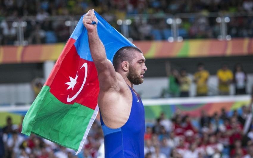 Azərbaycanın sərbəst güləşçisi üçüncü dəfə Yay Olimpiya Oyunlarında iştirak hüququna yiyələnib