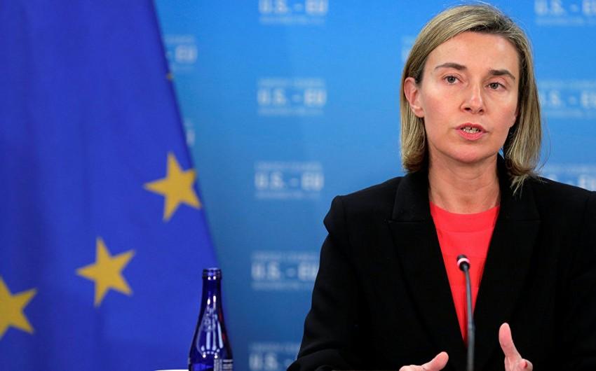 Federika Mogerini: Azərbaycanla yeni saziş üzrə danışıqlarda yaxşı nəticələr əldə etmişik