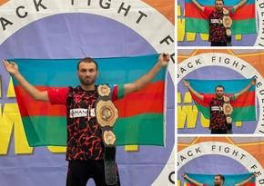 Одолевший армянина в Украине азербайджанский спортсмен стал чемпионом мира