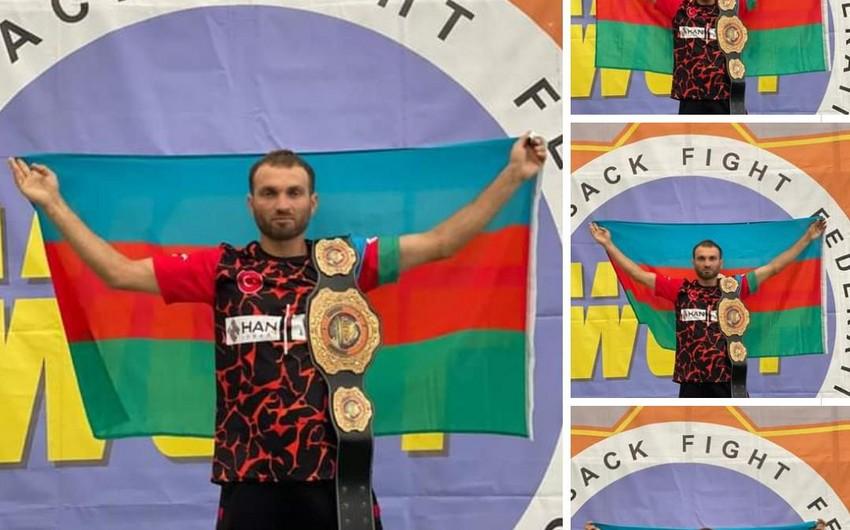 Azərbaycan idmançısı Ukraynada ermənini məğlub edərək dünya çempionu oldu - YENİLƏNİB - VİDEO