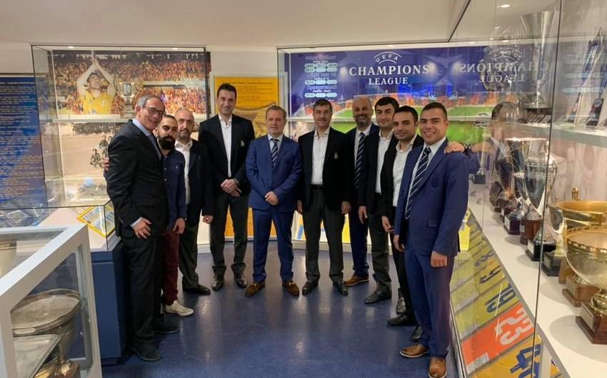 Qarabağ APOEL-in muzeyini ziyarət edən ilk xarici klub olub