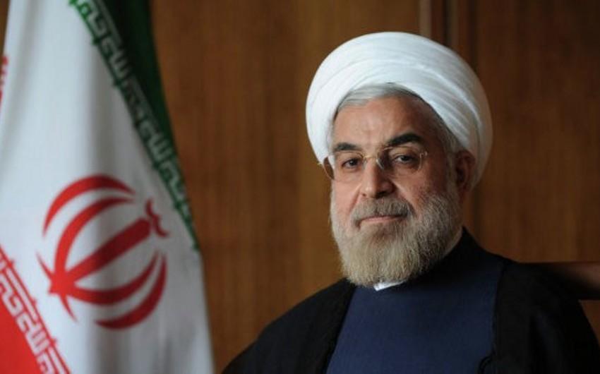 """İran Prezidenti: """"Azərbaycanla danışıqlar konstruktiv və dostluq şəraitində aparıldı"""""""