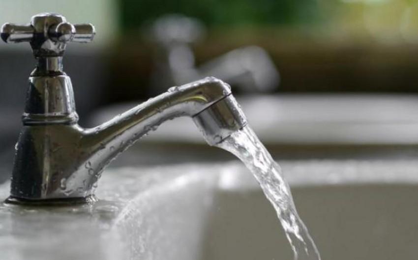В двух жилых массивах Баку планируются ограничения в подаче питьевой воды