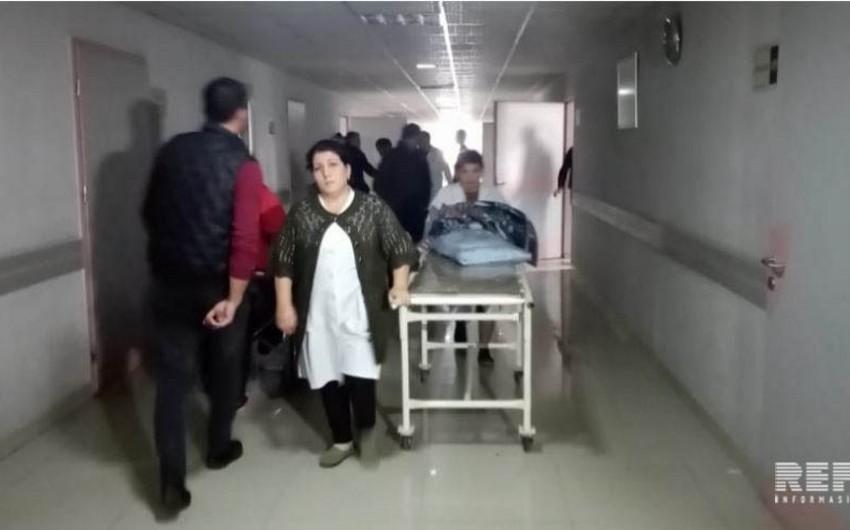 Bərdədə yol qəzasında 6 nəfər xəsarət alıb - FOTO - YENİLƏNİB