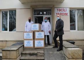 ÜST Şamaxı Mərkəzi Rayon Xəstəxanasına 12 500 tibbi maska verib