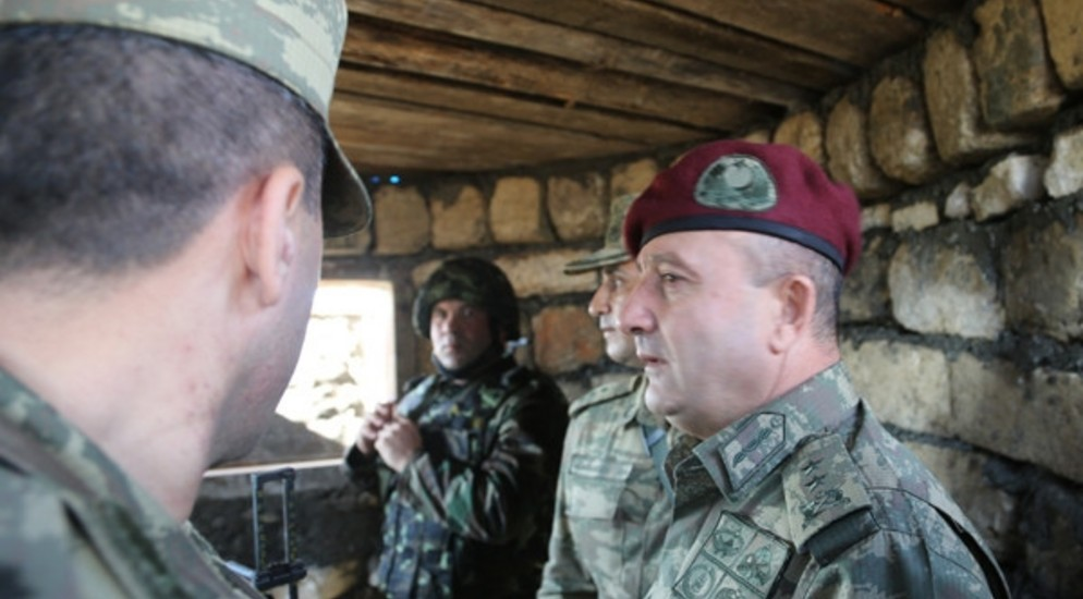 "Division General: ""Azerbaijani soldiers, their military supplies ..."