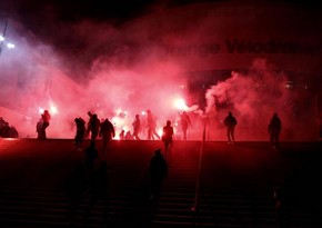 Fransa klubu azarkeşlərinin zorakılığı ilə bağlı bəyanat yaydı
