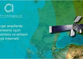 """""""Azərkosmos"""" """"Azconnexus"""" peyk internet platformasını istifadəyə verib"""