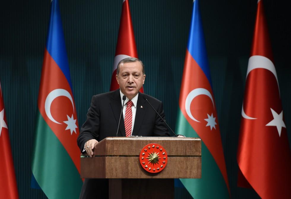 Президент Турции: Мы работаем над тем, чтобы завершить реализацию проекта TANAP раньше времени