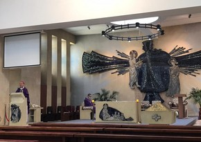 Mass in memory of martyrs held in Catholic church in Baku