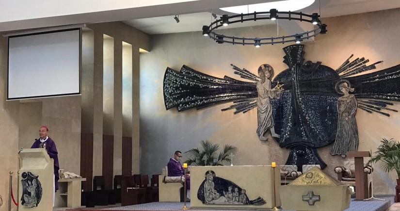Bakıdakı katolik kilsəsində şəhidlərin xatirəsinə dua mərasimi keçirilib