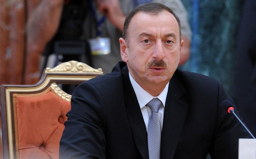 Azərbaycan Prezidenti: SOCAR İran və Rusiya ilə birgə əməkdaşlıqda maraqlıdır