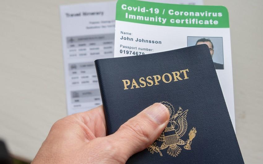 COVID-19 pasportu və ya immunitet sertifikatı tələbinin hansı iş yerlərinə aid ediləcəyi açıqlanıb