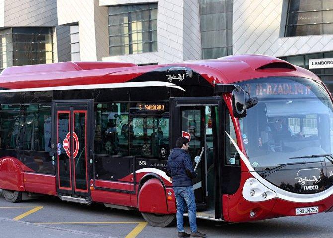 В графиках некоторых маршрутных автобусов Баку будут задержки