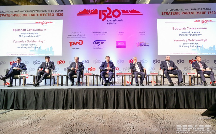 Recent years Azerbaijan invested 20 bln USD in development of transport infrastructure