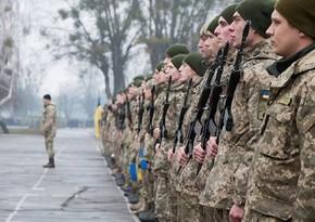 Ukraynada ehtiyatda olan hərbçilərin xidmətə çağırışına dair qanun imzalandı