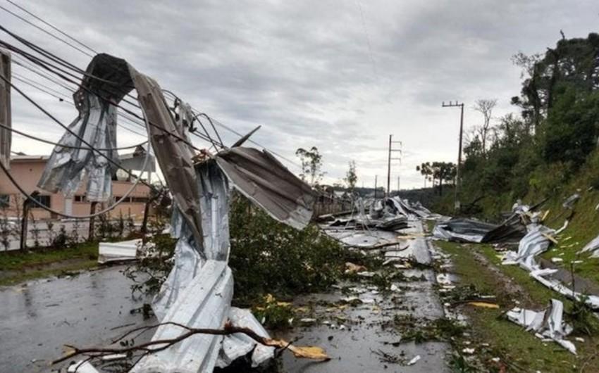 В Бразилии из-за циклона погибли семь человек