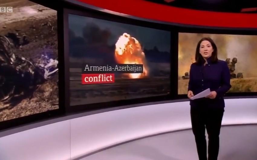 BBC Gəncədən reportaj hazırladı: Bu, açıq-aşkar mülki əhalinin hədəfə alınmasıdır