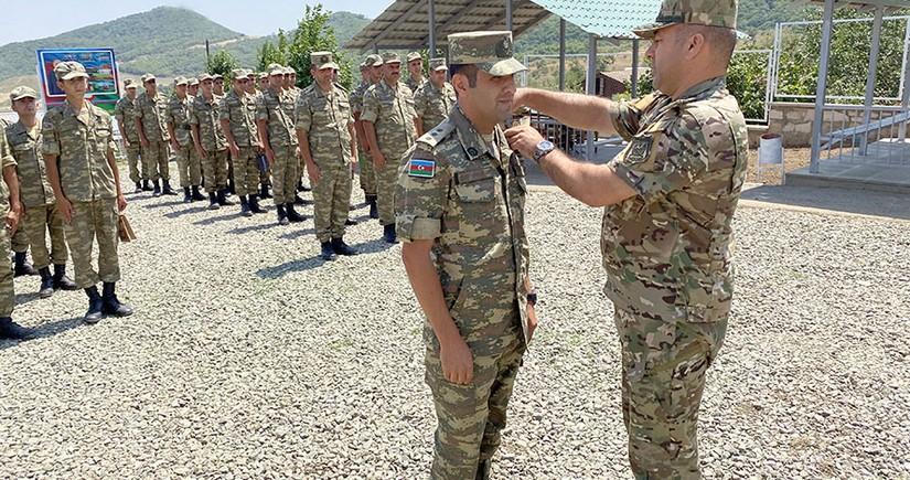 Xocalı ərazisində yeni hərbi hissənin açılışı olub