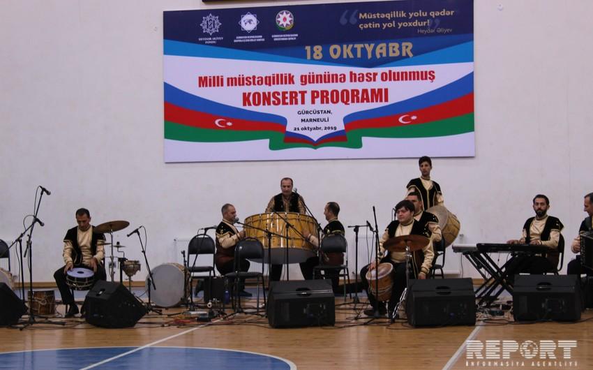 Heydər Əliyev Fondu Gürcüstanda konsert təşkil edib - FOTO