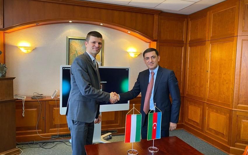 Macarıstanda Azərbaycanla enerji sahəsində əməkdaşlıq imkanları razılaşdırılıb