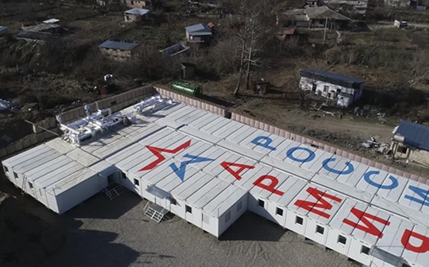 В Карабахе возвели еще четыре блочно-модульных городка для миротворцев