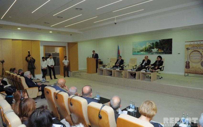 AMEA-da Azərbaycan muğam elmi: reallıqlar və perspektivlər mövzusunda elmi simpozium keçirilib