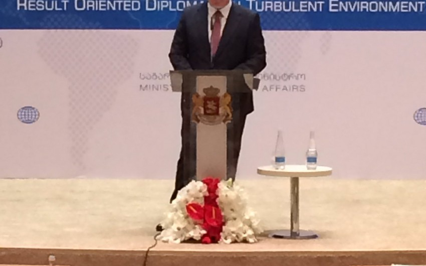 Georgian ambassador to Azerbaijan attends session of diplomatic missions in Tbilisi