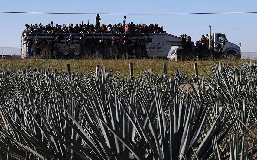 Salvadordan ABŞ-a daha bir miqrant karvanı yola düşüb