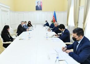 Али Асадов встретился с региональным директором Всемирного банка