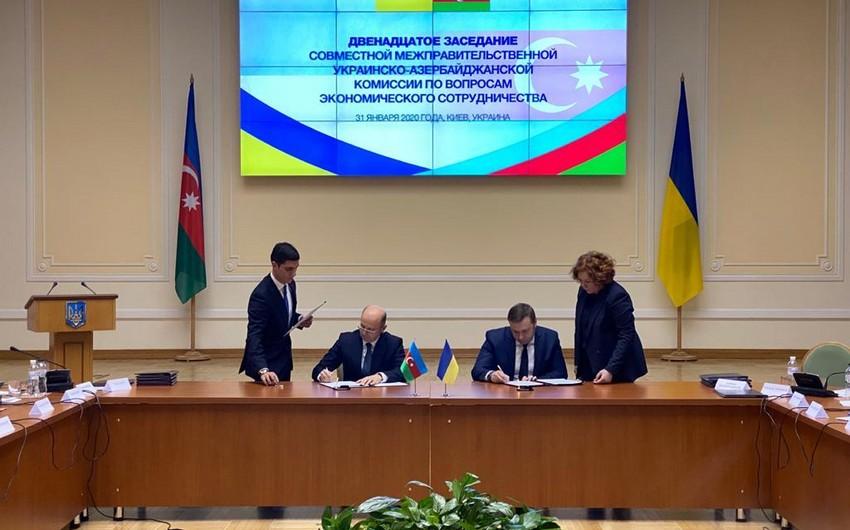 Azərbaycan Ukrayna ilə bir sıra sənədlər imzalayıb
