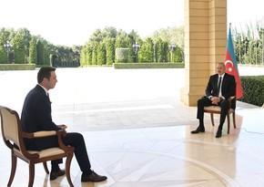 """Prezidentin Türkiyənin """"Haber Global"""" telekanalına müsahibəsinin TAM MƏTNİ"""