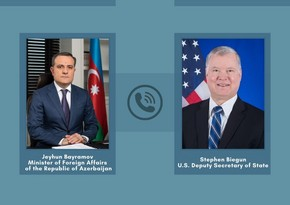 Jeyhun Bayramov, US Deputy Secretary of State hold phone talk
