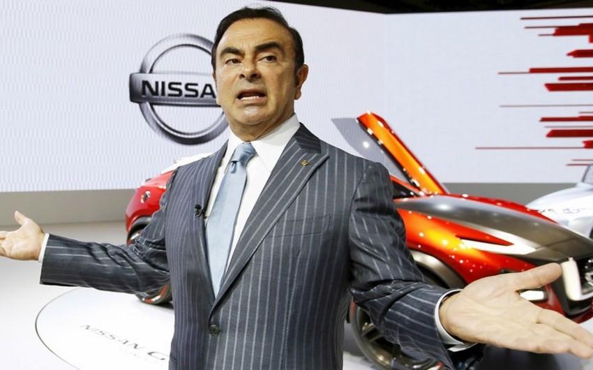 Nissan avtomobil konserni rəhbərinin həbs müddəti uzadılıb