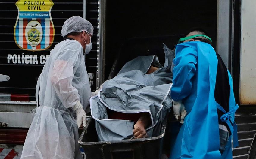 Braziliyada 10 mindən çox insan koronavirusun qurbanı olub