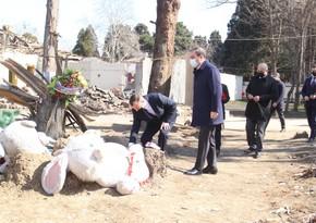 Belarusian Ambassador visits areas destroyed by Armenians in Ganja