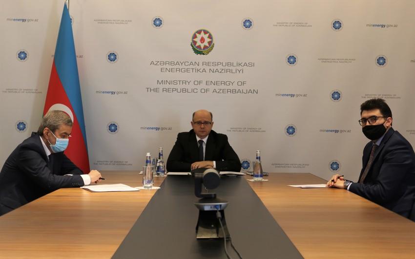 Министр энергетики Азербайджана встретился с исполнительным директором TAP