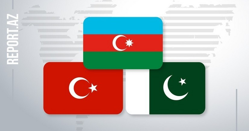 Azərbaycan, Türkiyə və Pakistan parlament sədrlərinin görüşü başlayıb