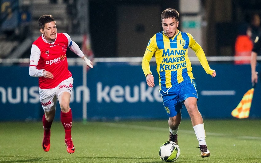 Millimizin futbolçusu Niderland klubunda 2-ci qolunu vurdu