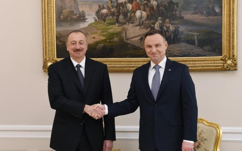 Polşanın dövlət başçısı Azərbaycan Prezidentini təbrik etdi