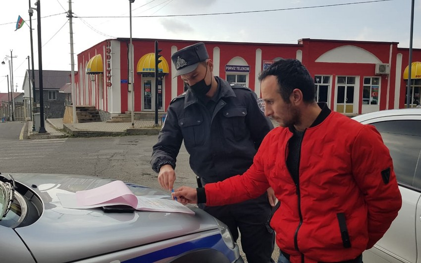 Polis Oğuzda reyd keçirib