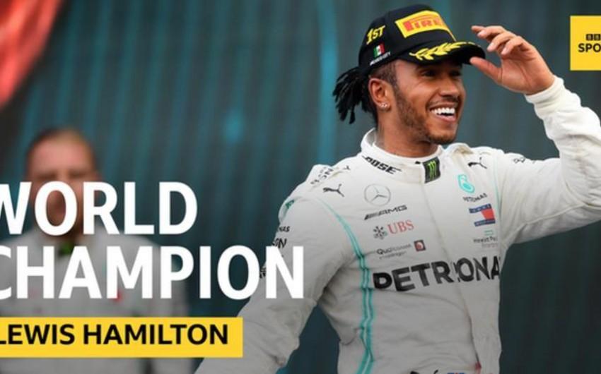 Lüis Hemilton Formula 1 üzrə 6 qat dünya çempionu olub