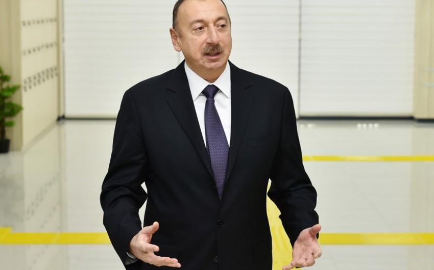 """Prezident İlham Əliyev: """"İmkanlı, varlı insanlar, böyük evlərə, villalara sahib olan vətəndaşlar daha çox ödəməlidirlər"""""""