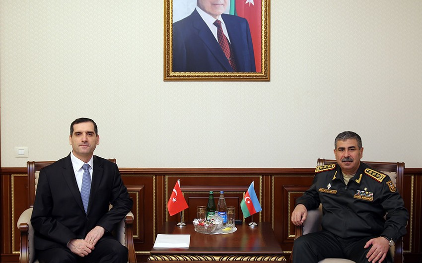 Azerbaijan and Turkey discuss prospects of cooperation between armies