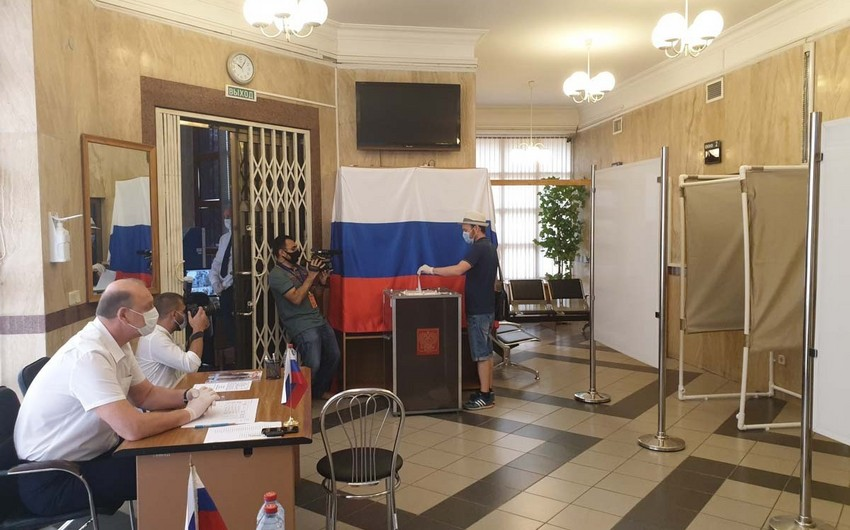 Голосование в условиях карантина - ФОТОРЕПОРТАЖ