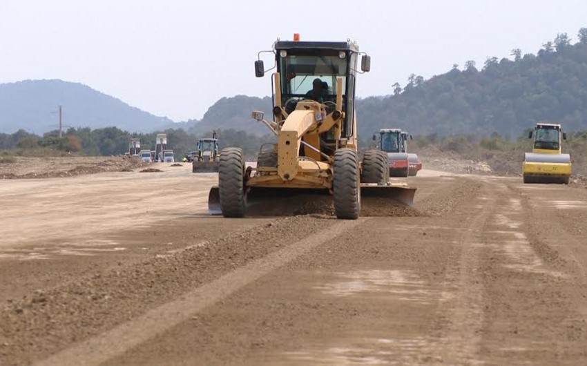 Masallı-Astara avtomobil yolunda yeni körpünün inşası başa çatır
