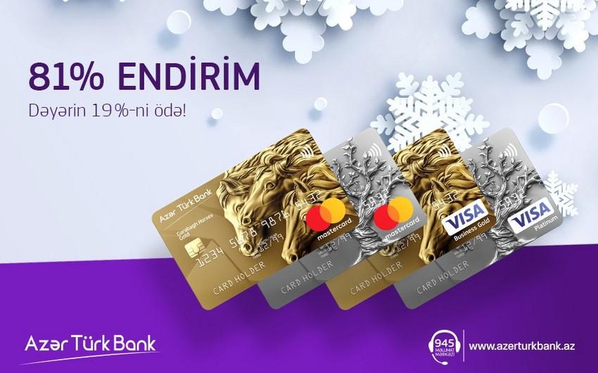 Azər-Türk Bank ödəniş kartları ilə bağlı yeni kampaniya keçirir