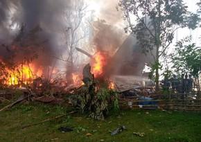 Крушение военного самолета на Филиппинах: 45 погибших, десятки раненых - ОБНОВЛЕНО-3