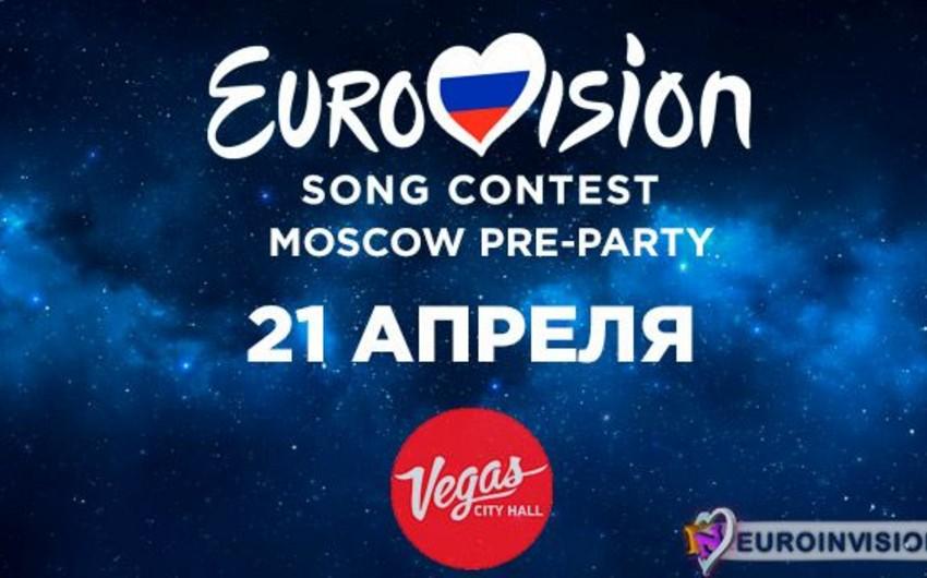 Rusiyada Moscow Eurovision Party əyləncə gecəsi təxirə salınıb
